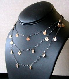 15 Off Sale New COUGAR TOWN Necklace DARK Sterling by PapillonDaze, $51.85
