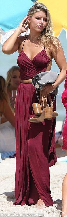 Natasha Oakley July 17th 2015, Miami, Florida   women fashion outfit clothing stylish apparel @roressclothes closet ideas