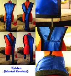Deviantart Cosplay Tutorial http://www.deviantart.com/browse/all/artisan/costumes/?order=5&q=Pattern+Tutorial&offset=168 Raiden (Tunic Only) from Mortal Kombat by S-Xasus.deviantart.com on @DeviantArt