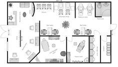 1000+ images about Salon layout plans on Pinterest