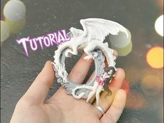 Polymer clay tutorial Dragon Chibi Cameo