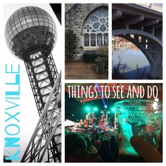 Things to Do in Knoxville, Tennessee Check out Hearth and Caravan's first blog post about one of our very favorite places, Knoxville, TN.