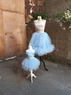 This item is unavailable Blue Tulle Skirt, Tulle Lace, Tulle Skirts, Mother Daughter Matching Outfits, Mommy And Me Outfits, Mini Me, Festival Wear, Festival Outfits, Tutu Rock