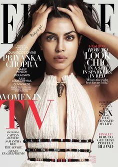Priyanka Chopra is smoking hot on the Elle magazine cover Fashion Magazine Cover, Fashion Cover, Vogue Magazine Covers, Elle Magazine, Magazine Editorial, Miss World 2000, Miss Mundo, Julia Louis Dreyfus, Mode Chanel