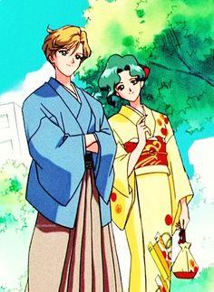 Haruka and Michiru  were such butt holes to Usagi in Sailor Moon S