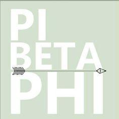 Pi Beta Phi arrow #piphi #pibetaphi