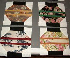BlackKatKreations: Japanese Lantern Quilt Blocks