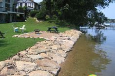 Dock Sales and Service, Lake Minnetonka, MN Lake Landscaping, Lake Front, Lake Homes, Lake Beach, Outdoor Spaces, Outdoor Decor, Landscape Designs, Boat Dock, Beach Landscape