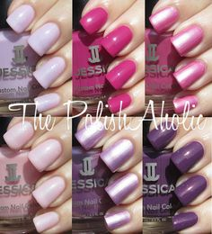 Jessica Spring 2012 Heavy Petal Collection Swatches!