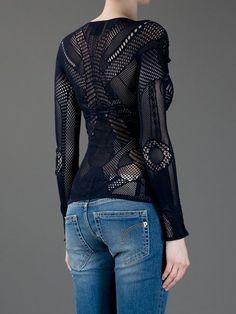 Mcq Alexander Mcqueen Top Crochet - - Farfetch.com