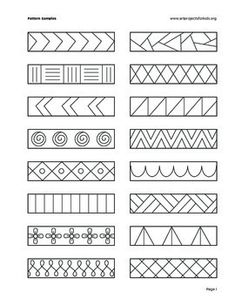 Line Art Drawings Doodles Student Ideas For 2019 Zentangle Drawings, Mandala Drawing, Doodle Drawings, Zentangles, Art Drawings For Kids, Easy Drawings, Art For Kids, Drawing Ideas, Pattern Drawing