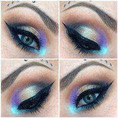 ⚡️ Products used : ⚡️  Artist Shadows M-535 M-660 S-616 S-110 I-918  Star Powder 944... | Use Instagram online! Websta is the Best Instagram Web Viewer!