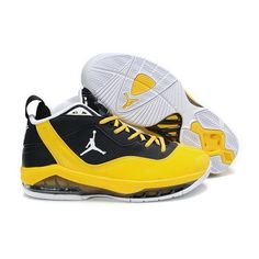 Perfect Jordan Melo M8 Black Yellow Men Basketball Shoes For $68.50 Go To:  http://www.basketball-mall.com