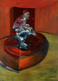 'Study from Innocent X' by Francis Bacon (1962)  Art Experience NYC  www.artexperiencenyc.com/social_login/?utm_source=pinterest_medium=pins_content=pinterest_pins_campaign=pinterest_initial