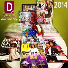 My vision board party 2014 Write The Vision, Creating A Vision Board, Girls Night, Party Planning, Party Time, Vision Boarding, Goal Digger, Women's Ministry, Fundraisers