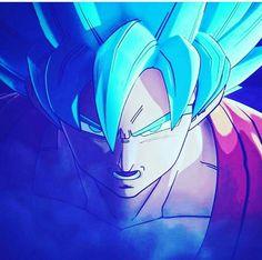 Goku ss god #dragonball