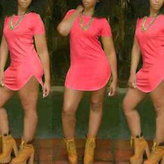 T Shirt Dress/Tunic Sz Small Never worn Dresses