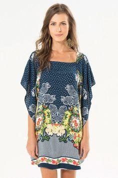 vestido curto borviva barrado   FARM