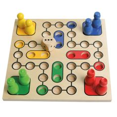 Parchís - Movie Tutorial and Ideas Wooden Board Games, Wood Games, Crafts For Kids, Diy Crafts, Cafe Art, Montessori Toys, Kids Wood, Tabletop Games, Wood Toys