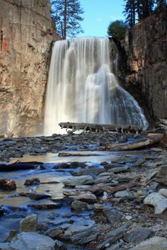 Rainbow Falls - Devil Postpile National Monument– Located in Mammoth Mountain in Madera County, California