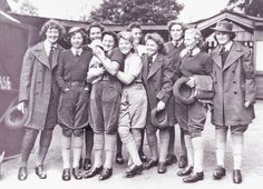 ~ Raleigh Vintage ~: Land Girls : The Uniform - Dig for Victory - WLA, Victory Crops and more - Women in Uniform