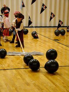 juegos con globos: colgar y pinchar o como dibujo