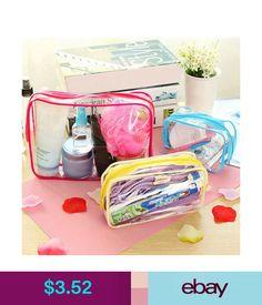 3600381bcdb0 Makeup Bags & Cases Cosmetic Bag Travel Toiletry Bathroom Clear Wash Bag  Organizer Pvc Totes