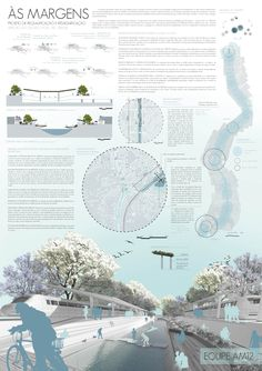 New landscape architecture board competition ideas Concept Board Architecture, Architecture Presentation Board, Architecture Collage, Landscape Architecture Design, Urban Architecture, Architecture Portfolio, Urban Design Concept, Urban Design Diagram, Presentation Board Design