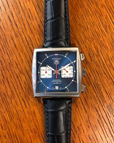 Tag Heuer Monaco, Seiko, Watches, Leather, Racing, Accessories, Cars, Classic, Clocks