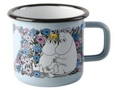 Moomin Sweetheart Moomin Retro Enamel Mug- Moomin Sweetheart Moomin Retro Enamel Mug Muurla-Tazza di smalto retrò Moomin Sweetheart Moomin da dl - Shabby Look, Cute Gifts, Unique Gifts, Moomin Mugs, Magic Design, Tove Jansson, Friend Mugs, Retro Gifts, Cool Mugs