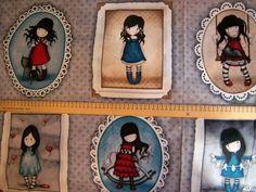 Coupon Tissu GORJUSS de L'Atelier de la Souris sur DaWanda.com