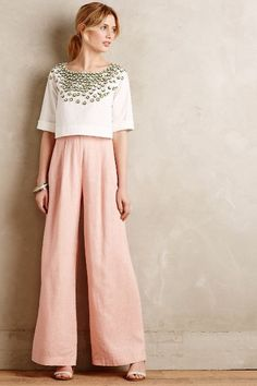 Soren Wide-Leg Trousers