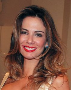 322....Luciana Gimenez   (7.5)  Photos: https://www.google.com/search?q=Luciana+Gimenez&source=lnms&tbm=isch&sa=X&ei=szThUrzgD-f-2QX5zIHwBg&ved=0CAkQ_AUoAQ&biw=1920&bih=975       Model Luciana Gimenez Morad Fragali is a Brazilian fashion model and TV show hostess. Luciana started her modeling career at age 13, and has worked in many cities around the world, such as Paris, Hamburg, Milan and New York.  Born: November 3, 1969 , São Paulo, São Paulo, Brazil