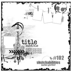 sketchabilities: Sketch #102-Design Team Reveal & Sponsor-