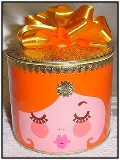 Image detail for -Adorable Rare Vintage Max Factor Golden Woods Powder Puffery Bath ...