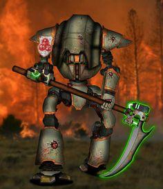 Cerastus Scythe-Knight of Nurgle -Pestbringer-byEmpyronaut