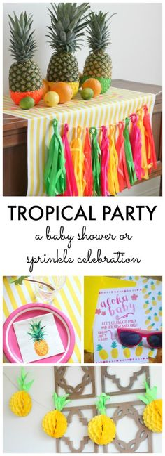 Tropical Party: A Pi