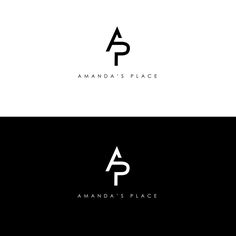 it is minimalist combination of the letter A and P