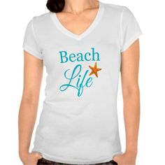 Celebrate the beach with a bold typography T-Shirt (with starfish photo). By Beach Bliss Designs: http://www.beachblissdesigns.com/2015/06/beach-typography-t-shirt.html