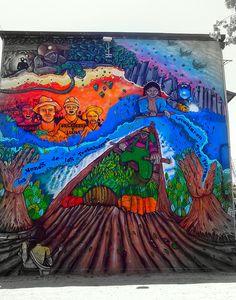 Street Art - Museo a Cielo Abierto - Chile