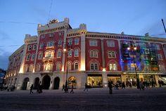 Palladium (Shopping Mall), Prague..hundreds of awesome stores