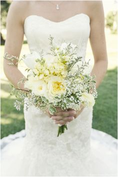 summer wedding bouquet--I like this.  I think the yellow centers would look nice with all the rest