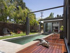 Everett Street Residence / open architecture by Dawson & Clinton #Paloalto,#architecture, #house, #California