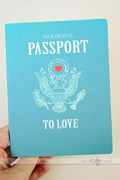 Passport to Love- Fun Gift Idea for the Hubby