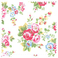 Oilcloth Fabric | Spray Flowers Oilcloth | CathKidston
