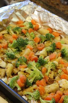 Cheezy Vegetable Bake. Fix to your own taste in vegetables! GREAT recipe!!