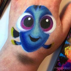 Face paint fun Fish from nemo