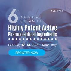 The Highly Potent Active Pharmaceutical Ingredients Summit offers only thehighest-profileof industry speakers presenting keynote topics, taking the experience to an all-new level. London South Bank University, Sales Development, Regulatory Compliance, Environmental Pollution, Chemical Engineering, Applied Science, Biotechnology, Health And Safety, Keynote