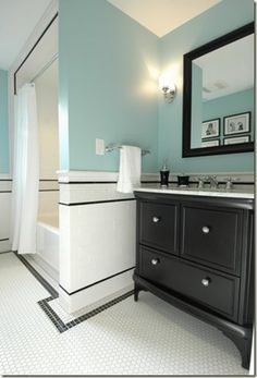 Interior Design Newton, MA: This Old House, Newton, MA - A case study in design decision making.