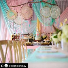 #tbt This weekend's inspiration with the talented Christina @designplanplay #Repost @designplanplay with @repostapp. ・・・ whimsical✨and dreamy✨ this dream catcher ONEderland party goes down as one of my favorites!! Dreamcatchers, draping backdrop and vintage pink dessert table @bambinisoiree florals @avantgardensmia cross back chairs @elementsandaccents cake @cakesbyrc desserts @opopsbyangie @ohhmysweetness @youcancallmesweetie photography and photo credit @udsphoto #designplanplay #cakesbyrc